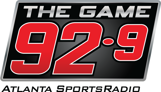 92.9 The Game sponsor logo in footers