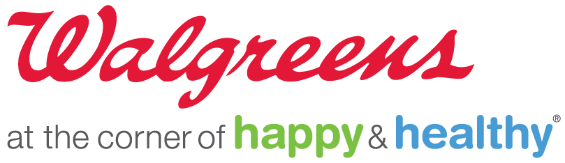 Walgreens logo used in footer
